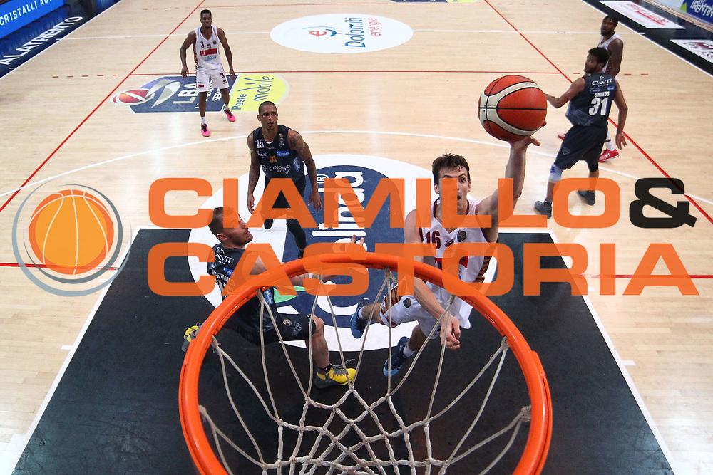 Benjamin Ortner<br /> Dolomiti Energia Aquila Basket Trento - Umana Reyer Venezia <br /> Lega Basket Serie A 2016/17 Finali Gara 03<br /> Trento, 14/06/2017<br /> Foto Ciamillo-Castoria / M. Brondi