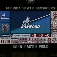 180601 Samford vs FSU Baseball