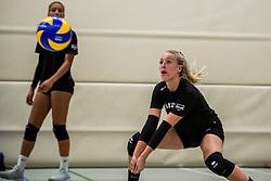 10-09-2018 NED: Training PDK Huizen season 2018-2019, Huizen<br /> Training for the players of Top Division club vv Huizen women season 2018-2019 / Yara van Keeken #2 of PDK Huizen