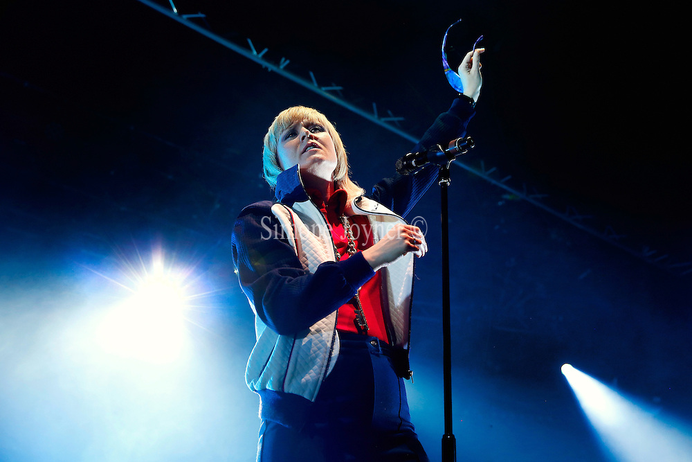 Singer Roisin Murphy performs live on stage at The Roundhouse on May 16, 2015 in London, England.  (Photo by Simone Joyner)