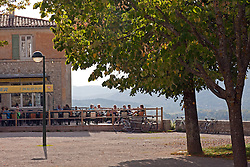 Sited with a grand view, the La Promenade Restaurant in Sault is popular with cyclists, visitors, and locals.