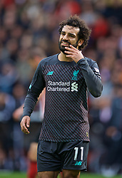 SHEFFIELD, ENGLAND - Thursday, September 26, 2019: Liverpool's Mohamed Salah looks dejected after missing a chance during the FA Premier League match between Sheffield United FC and Liverpool FC at Bramall Lane. (Pic by David Rawcliffe/Propaganda)