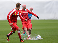 Stefan Ilsanker (centre) during Austria training camp ahead of Euro 2016 at Raiffeisen Arena Crap Gries, Schluein<br /> Picture by EXPA Pictures/Focus Images Ltd 07814482222<br /> 23/05/2016<br /> ***UK &amp; IRELAND ONLY***<br /> EXPA-RIN-160523-0192