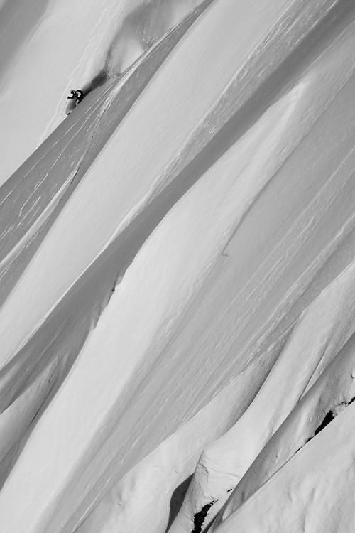 Rider: Dominique Perret  Location: Alyeska (Alaska/USA)