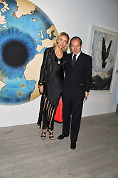 SIMON & MICHAELA DE PURY at Arts for Human Rights gala dinner in aid of The Bianca Jagger Human Rights Foundation in association with Swarovski held at Phillips de Pury & Company, Howick Place, London on 13th October 2011.