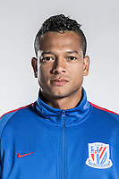 **EXCLUSIVE**Portrait of Colombian soccer player Fredy Guarin of Shanghai Greenland Shenhua F.C. for the 2018 Chinese Football Association Super League, in Shanghai, China, 2 February 2018.