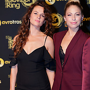 NLD/Amsterdam/20181011 - Televizier Gala 2018, Anna Speller en Sarah Chronis