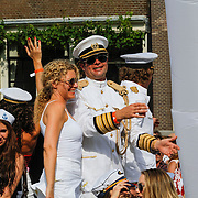 NLD/Amsterdam/20120804 - Canalparade tijdens de Gaypride 2012, Chris Luken