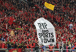 March 11, 2018 - Atlanta, GA, USA - Who says Atlanta is a bad sports town as Atlanta United fans fill the stadium and cheer their team in the home opener against D.C. United on Sunday, March 11, 2018, in Atlanta, Ga. (Credit Image: © Curtis Compton/TNS via ZUMA Wire)