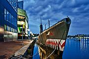 USS Torsk,Submarine Memorial, Inner Harbor, Baltimore, Maryland, USA.