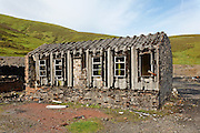 Disused mine building, Wanlockhead, Southern Uplands, Scotland