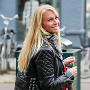 NLD/Amsterdam/20130423 - Ellemiek Herman - Vermolen winkelend in Amsterdam,