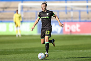 Forest Green Rovers Joseph Mills(23) runs forward during the EFL Sky Bet League 2 match between Macclesfield Town and Forest Green Rovers at Moss Rose, Macclesfield, United Kingdom on 29 September 2018.