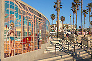 Huntington Beach Pier Plaza in Orange County California
