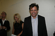Amanda and Anthony Wilkinson.  Opening of new  Wilkinson gallery. Vyner St. London. E2. Party afterwards at Bistrotheque. 6 September 2007. -DO NOT ARCHIVE-© Copyright Photograph by Dafydd Jones. 248 Clapham Rd. London SW9 0PZ. Tel 0207 820 0771. www.dafjones.com.