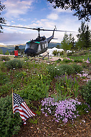 Huey Helicopter, Vietnam Veterans Memorial State Park, New Mexico