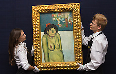 29015-10-09 Sotheby's London displays $60 million Picasso ahead of New York auction.