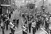 Grimesthorpe banner, 1983 Yorkshire Miner's Gala. Barnsley