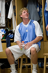 19 April 2008: North Carolina men's lacrosse defenseman Pell George (16) before a 13-9 win over the Hofstra Pride at Kenan Stadium in Chapel Hill, NC.