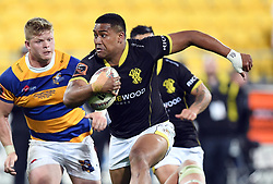 Wellington's Julian Savea trybound against Bay of Plenty in the Mitre 10 Rugby Final  Championship match at Westpac Stadium, Wellington, New Zealand, Friday, October 27, 2017. Credit:SNPA / Ross Setford  **NO ARCHIVING**
