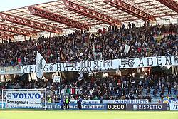 """Foto /Filippo Rubin<br /> 12/11/2017 Cesena (Italia)<br /> Sport Calcio<br /> Cesena - Salernitana - Campionato di calcio Serie B ConTe.it 2017/2018 - Stadio """"Dino Manuzzi""""<br /> Nella foto: I TIFOSI DEL CESENA<br /> <br /> Photo /Filippo Rubin<br /> November 12, 2017 Cesena (Italy)<br /> Sport Soccer<br /> Cesena - Salernitana - Italian Football Championship League B ConTe.it 2017/2018 - """"Dino Manuzzi"""" Stadium <br /> In the pic: CESENA SUPPORTERS"""