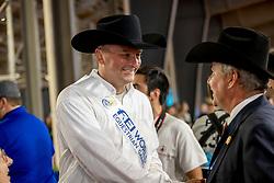 De Vos Ingmar, FEI President, Fonck Bernard, World Champion<br /> World Equestrian Games - Tryon 2018<br /> © Hippo Foto - Dirk Caremans<br /> 15/09/2018