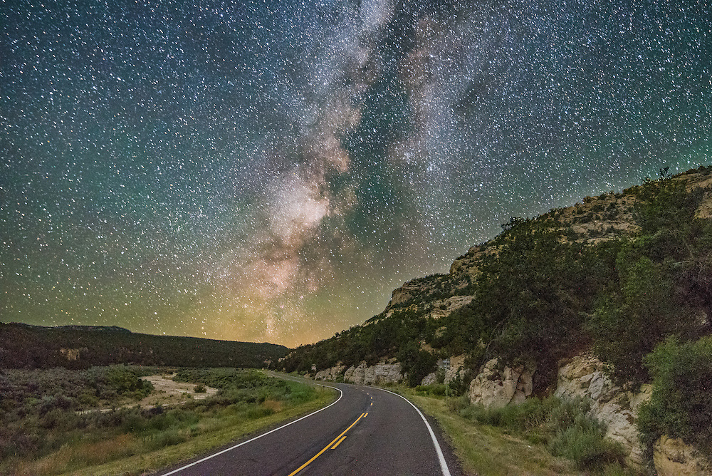 &quot;Homeward Bound&quot; A nightly journey through the mountainous Dixie National Forest in Southern Utah. <br />