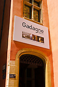 Gadagne Museum in old town Vieux Lyon, France (UNESCO World Heritage Site)