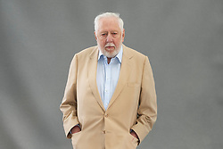 Edinburgh, Scotland, UK; 16 August, 2018. Pictured; Roy Hattersley who talks to Allan Little about his years in government and in opposition, the Labour Party (past and present0 and the books he has written and still hopes to write.