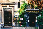 Two doors in Grosseto, Italy