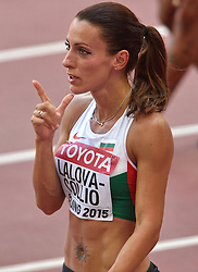 23-08-2015 CHN: IAAF World Championships Athletics day 2, Beijing<br /> Ivet LALOVA-COLLIO BUL<br /> Photo by Ronald Hoogendoorn / Sportida