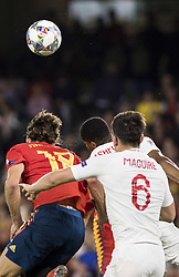 October 15, 2018 - Seville, Spain - during the UEFA Nations League Group A4 soccer match between Spain and England at the Benito Villamarin Stadium (Credit Image: © Daniel Gonzalez Acuna/ZUMA Wire)