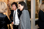Andy Wong; Patti Wong, Gino Hollander exhibition, Also a chance to see  the flat at 105-106 Lancaster Gate which is for sale. London. 4 February 2010.