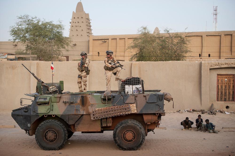 01/02/2013. Tombouctou, Mali. . ©Sylvain Cherkaoui