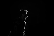 Leo Messi from Argentina of FC Barcelonad portrait black and white during the Andres Iniesta farewell at the end of the La Liga football match between FC Barcelona and Real Sociedad on May 20, 2018 at Camp Nou stadium in Barcelona, Spain - Photo Xavier Bonilla / Spain ProSportsImages / DPPI / ProSportsImages / DPPI