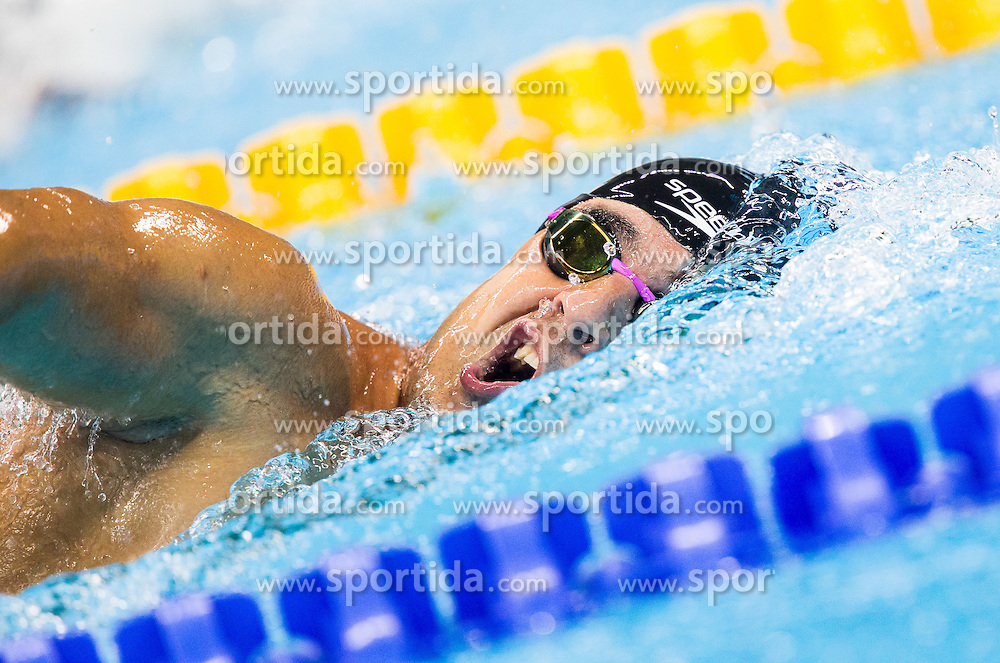 Darko Duric of Slovenia competes in Swimming Men's 100m Freestyle - S4 Heat during the Rio 2016 Summer Paralympics Games on September 8, 2016 in Olympic Aquatics Stadium, Rio de Janeiro, Brazil. Photo by Vid Ponikvar / Sportida