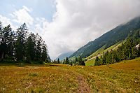 Golzern, Switzerland - looking down from the Sacred Meadow.