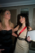 ASHLEY ARMITAGE; LORETTA GIAIMO, <br /> The 30th White Knights charity  Ball.  Grosvenor House Hotel. Park Lane. London. 10 January 2009 *** Local Caption *** -DO NOT ARCHIVE-© Copyright Photograph by Dafydd Jones. 248 Clapham Rd. London SW9 0PZ. Tel 0207 820 0771. www.dafjones.com.<br /> ASHLEY ARMITAGE; LORETTA GIAIMO, <br /> The 30th White Knights charity  Ball.  Grosvenor House Hotel. Park Lane. London. 10 January 2009