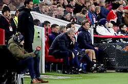 Crystal Palace manager Roy Hodgson watches from the benches during the Carabao Cup, Fourth Round match at the Riverside Stadium, Middlesbrough.