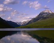 AA01133-01...MONTANA - Bowman Lake in Glacier National Park.