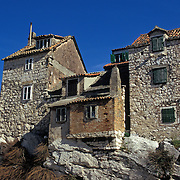 Stone houses in Split, Croatia