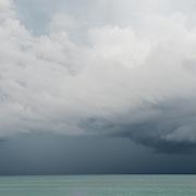 Storm approaching  Mayakoba. Riviera Maya. Quintana Roo, Mexico.