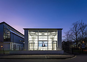 West Side Lecture Theatre, Winchester School of Art. Architect: Berman Guedes Stretton