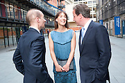 LORD ADONIS; SAMANTHA CAMERON; DAVID CAMERON, Summer party hosted by Rupert Murdoch. Oxo Tower, London. 17 June 2009