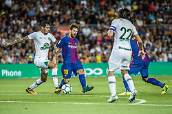 August 7, 2017 - Barcelona, Catalonia, Spain - FC Barcelona forward MESSI during the Joan Gamper Trophy between FC Barcelona and Chapecoense at the Camp Nou stadium in Barcelona (Credit Image: © Matthias Oesterle via ZUMA Wire)