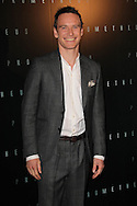 PARIS, FRANCE - APRIL 11:  Michael Fassbender attends Prometheus Premiere at Cinema Gaumont Marignan on April 11, 2012 in Paris, France.  (Photo by Tony Barson/Getty Images)