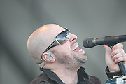 Chris Daughtry of the band Daughtry performs at the Big Dance Concert Series during Final Four weekend in Indianapolis, In.