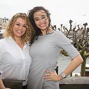 NLD/Amsterdam/20160321 - The Strong Woman Award 2016, Antje Monteiro en dochter Romy Monteiro