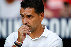 August 25, 2018 - Michel of Rayo Vallecano during the spanish league, La Liga, football match between Atletico de Madrid and Rayo Vallecano on August 25, 2018 at Wanda Metropolitano stadium in Madrid, Spain. (Credit Image: © AFP7 via ZUMA Wire)