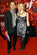 AMSTERDAM - De premiere van de Nederlandse speelfilm Soof. Met hier op de rode loper  Joram Lursen en partner Anne-May de Lijser. FOTO LEVIN DEN BOER - PERSFOTO.NU